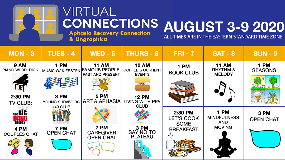 virtual connections schedule_aug3-9